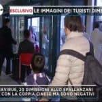 coronavirus, i 20 turisti cinesi sono stati dimessi