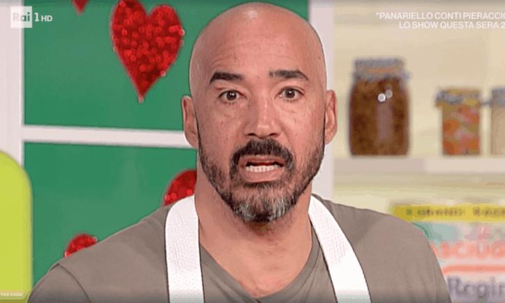 Amaurys Perez piange per la figlia a La prova del cuoco    per Daisy non trattiene le