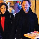 Famiglia allargata per Eleonora Pedron e Fabio Troiano, tutti insieme per una pizza (Foto)