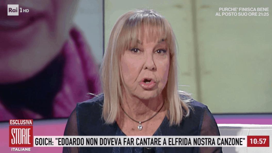 Wilma Goich e la moglie di Edoardo Vianello una contro l'altra a Storie Italiane, cosa salta fuori? (Foto)
