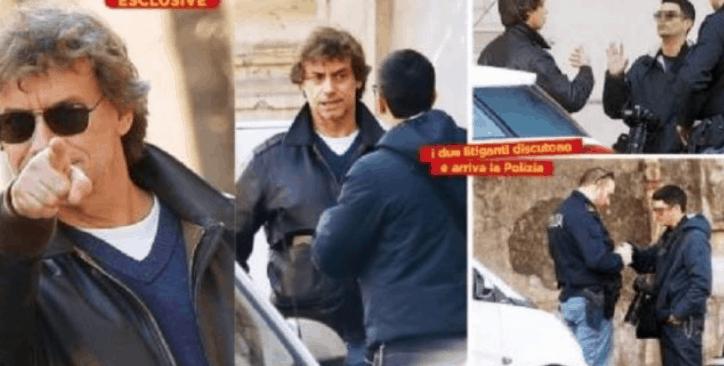 Alberto Angela litiga con un paparazzo, interviene la polizia
