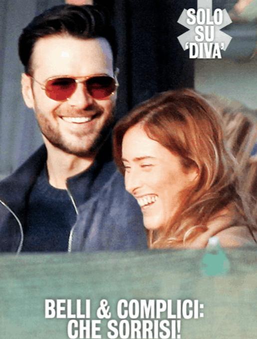 Maria Elena Boschi e Giulio Berruti finalmente abbracciati e innamorati: becccati insieme a Roma (Foto)