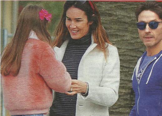 Silvia Toffanin, la sua quarantena è a Portofino con la famiglia (Foto)