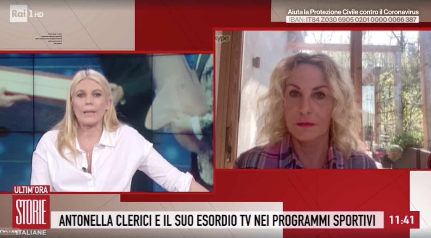 Antonella Clerici sbotta contro chi torna a casa per raggiungere i parenti al Sud