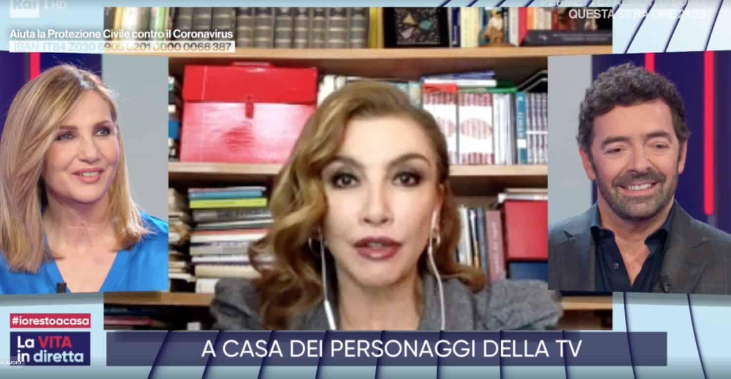 """Milly Carlucci: """"La giornata deve essere scandita da qualcosa o diventiamo matti"""""""