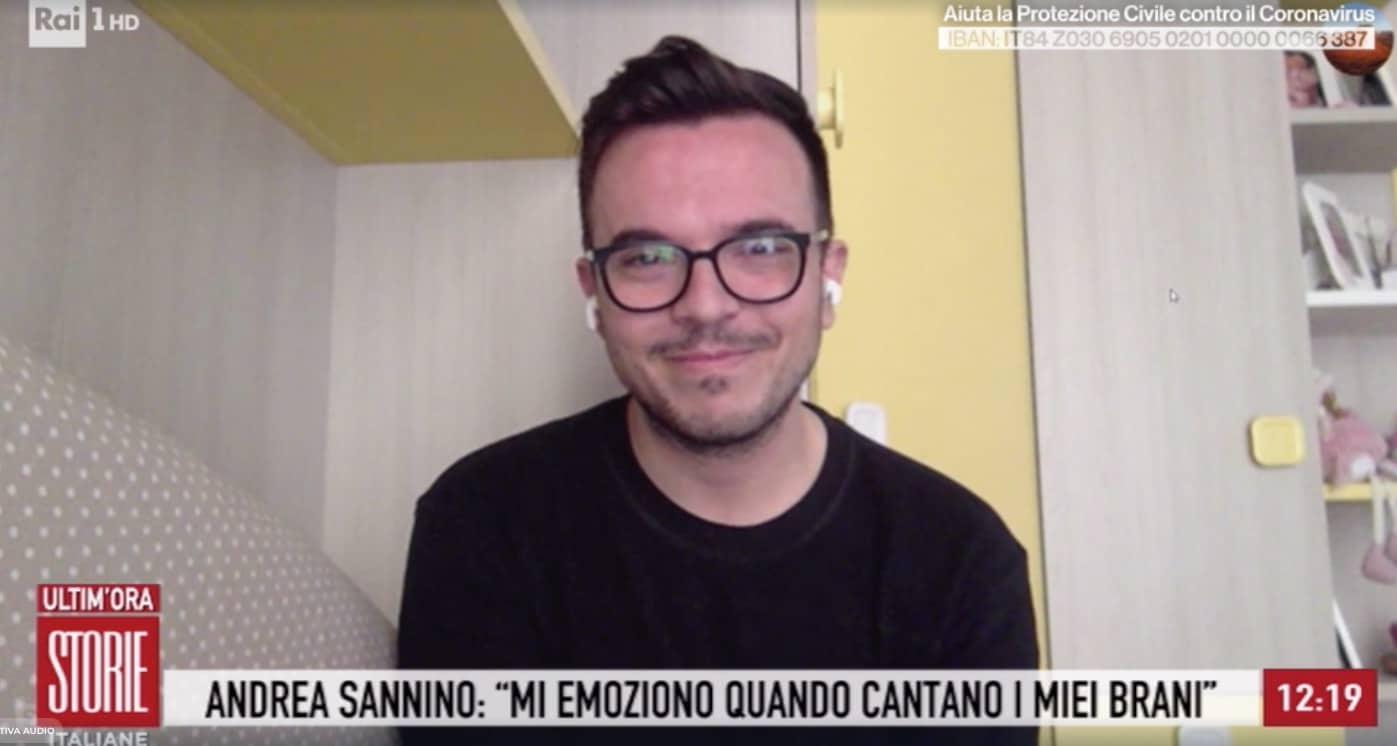 Andrea Sannino commosso dal video nell'ospedale Cardarelli di Napoli, il senso della sua Abbracciame