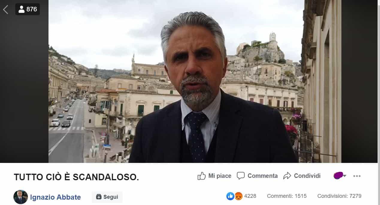 """Positiva al COVID19 parte da Pavia prende 2 aerei e taxi, la denuncia del sindaco di Modica: """"Fatto gravissimo"""""""