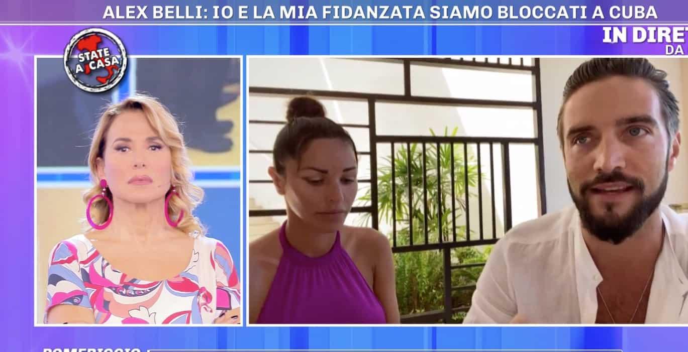 Alex Belli e la fidanzata bloccati e spaventati a Cuba chiedono aiuto a Pomeriggio Cinque (Foto)