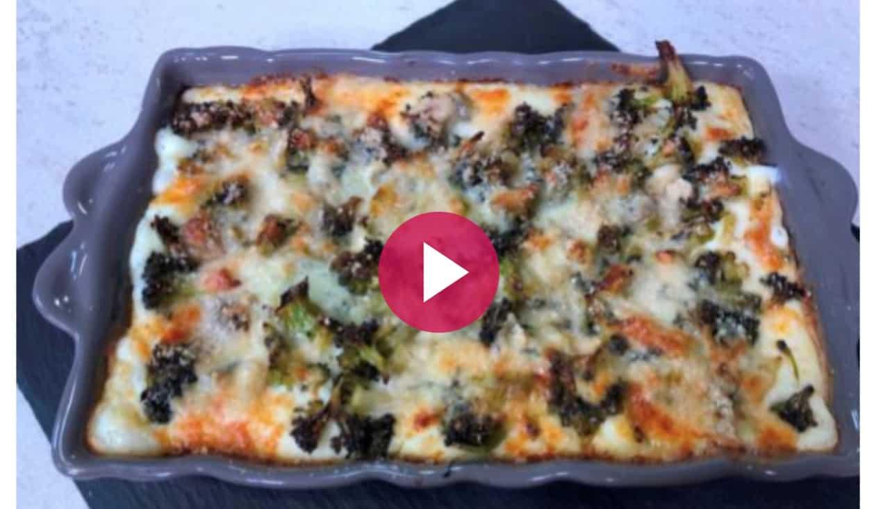 Lasagne broccoli e gorgonzola, la ricetta Cotto e Mangiato a distanza