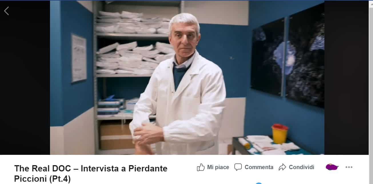 La vera storia di Pierdante Piccioni il dottore a cui si ispira la serie DOC su Rai 1 oggi in prima linea a Codogno
