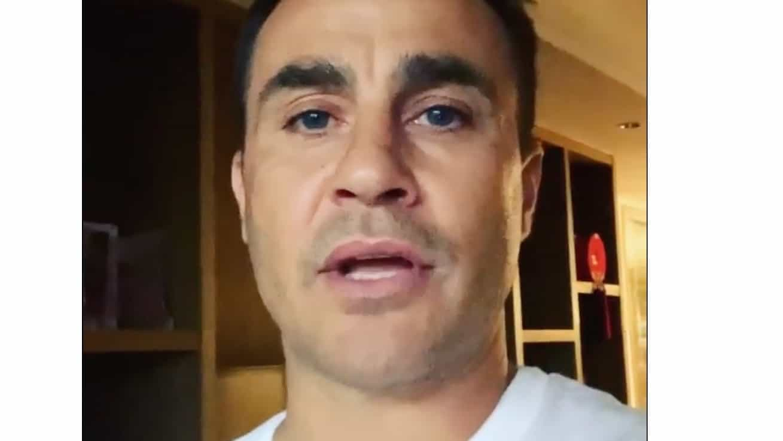 Fabio Cannavaro dalla Cina, la sua quarantena è finita e dà speranza agli italiani