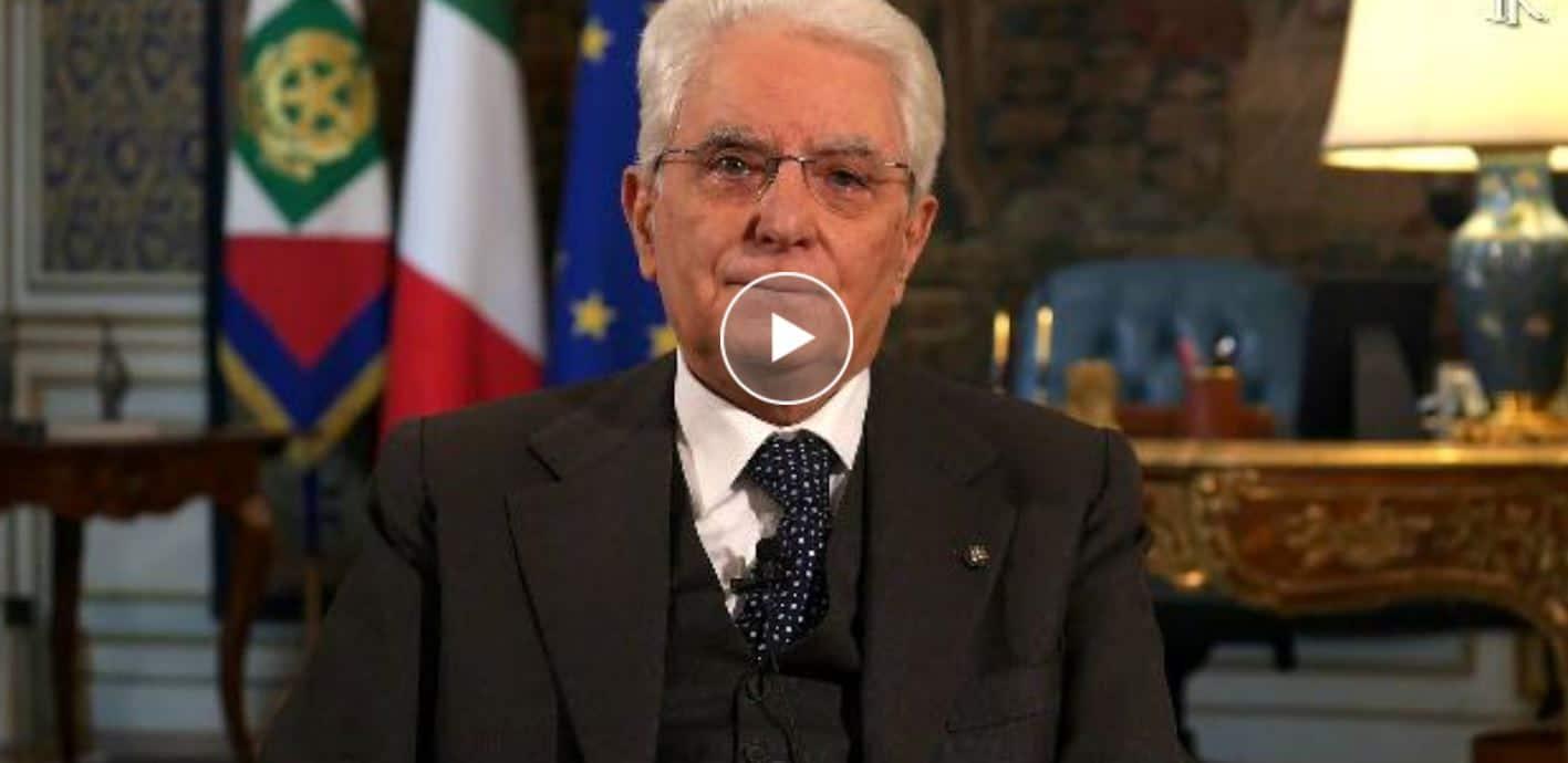 """Il discorso del presidente Mattarella, parla agli italiani ma anche all'Europa. """"Ne usciremo insieme anche questa volta"""""""