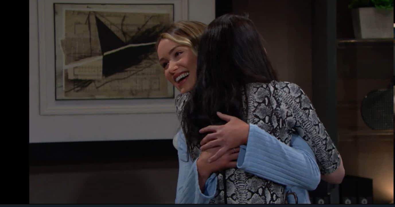 Beautiful anticipazioni, Flo torna nella vita di Wyatt e Sally prende una decisione importante