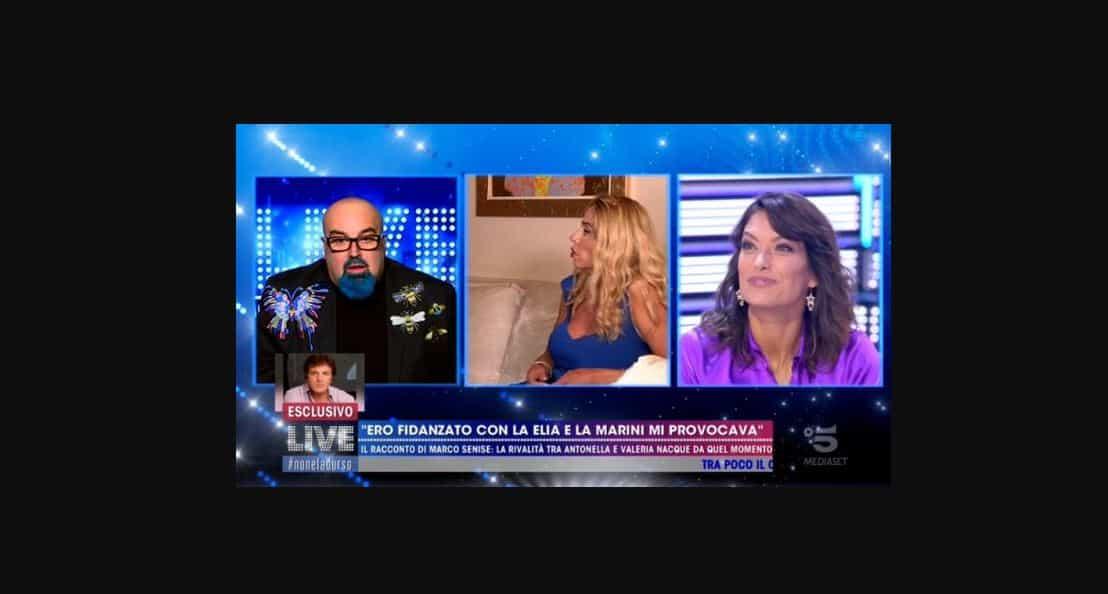 "Valeria Marini sbugiarda Marco Senise: ""Stati insieme? Non lo conosco"""