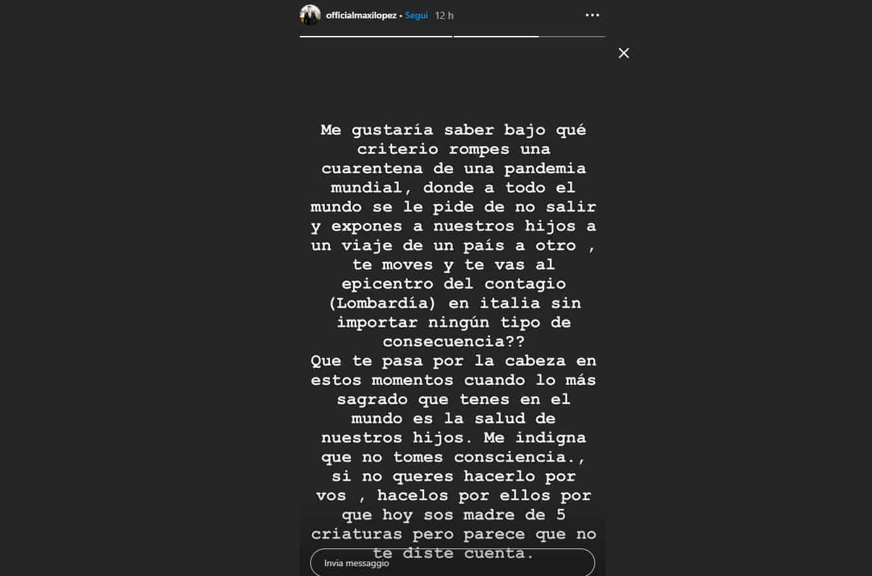 Maxi Lopez attacca Wanda Nara: violata la quarantena da Parigi a Milano con i bambini, paura e preoccupazione