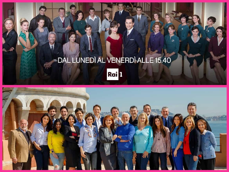 Anche le soap italiane si fermano: Un posto al sole in replica, Il paradiso delle signore episodi inediti ma ancora per poco