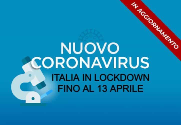Bollettino di oggi, 1 aprile, sul coronavirus in Italia