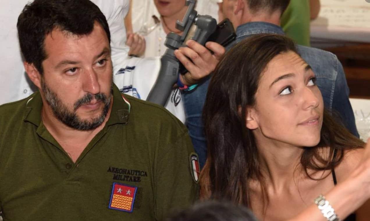 Attimi di terrore per la fidanzata di Salvini: Francesca Verdini racconta tutto sui social (Foto)