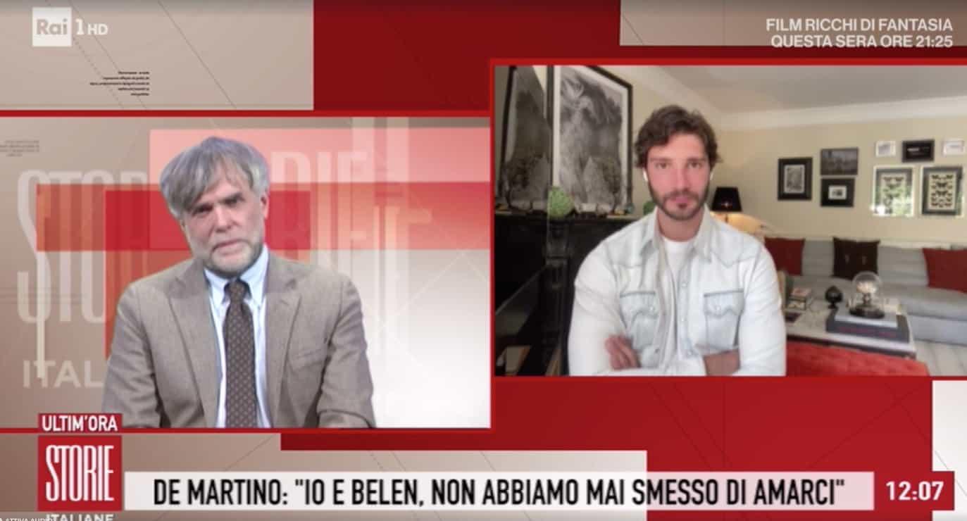 Stefano De Martino a Storie Italiane: cosa ha raccontato a Santiago di questa emergenza