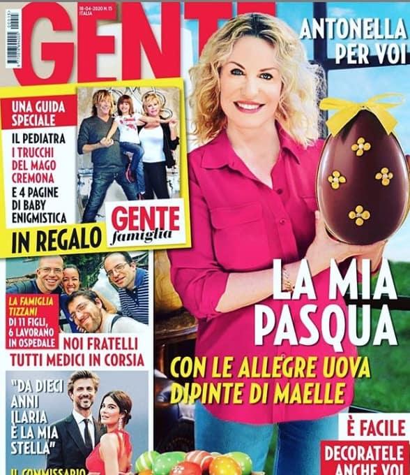 La Pasqua di Antonella Clerici, dopo il nuovo arrivato la foto più bella con Vittorio Garrone