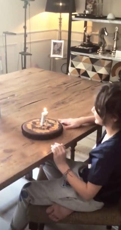 Belen e Stefano festeggiano il compleanno di Santiago (Foto)