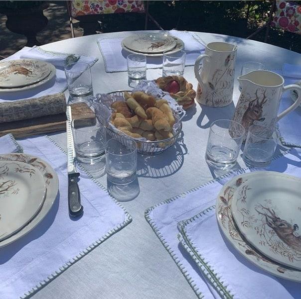 Antonella Clerici, a Pasqua una tavola semplice ma piena d'amore (Foto)
