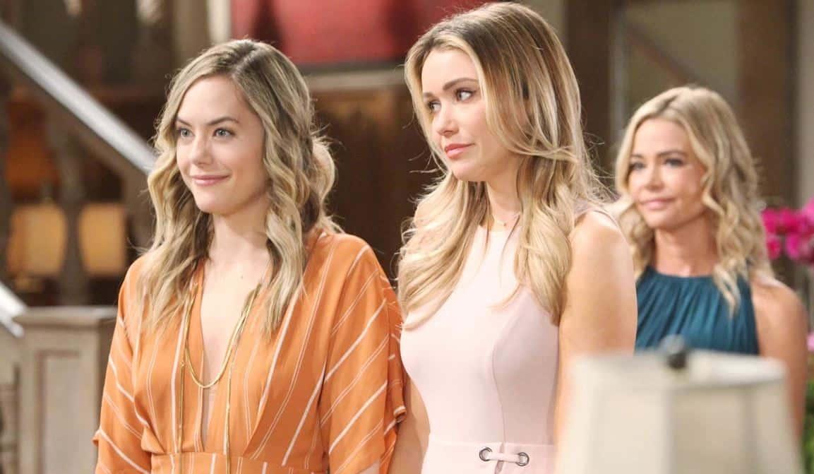 Beautiful anticipazioni: Flo è una Logan, Hope sospetta mentre Wyatt è felice