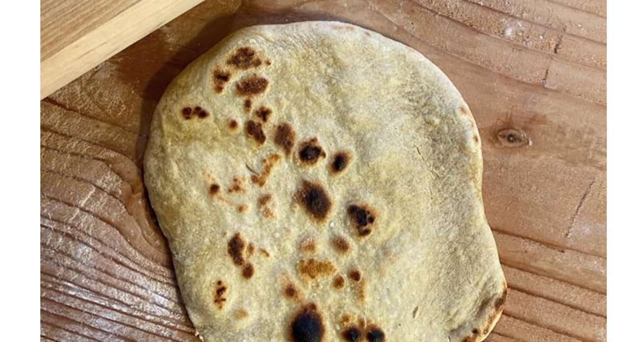 La ricetta del pane azzimo di Fulvio Marino, ovviamente senza lievito