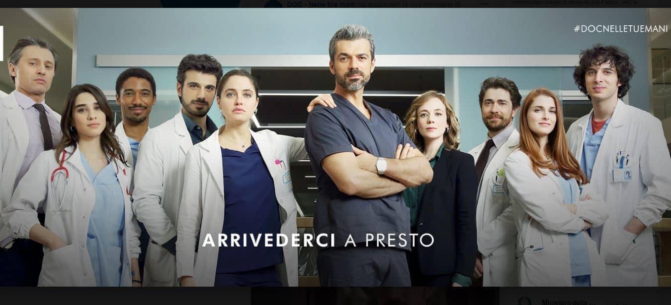 Doc-Nelle tue mani dopo l'ultima puntata l'arrivederci: la fiction torna presto, il dottor Fanti in pericolo?