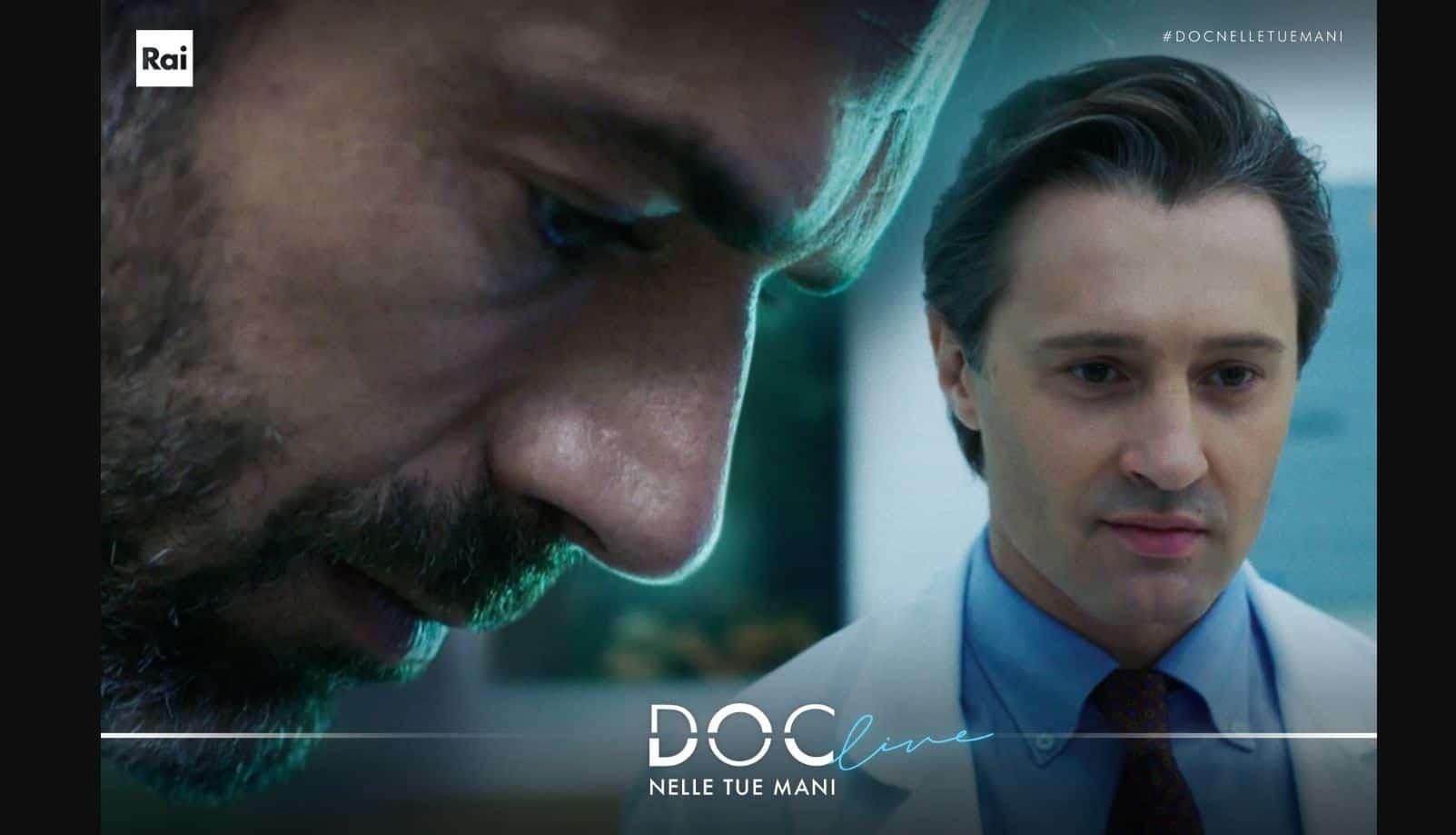 Doc-Nelle tue mani ultima puntata con DOC in crisi: cosa sta prendendo? Rischia la vita? Ricorderà cosa ha fatto Marco?