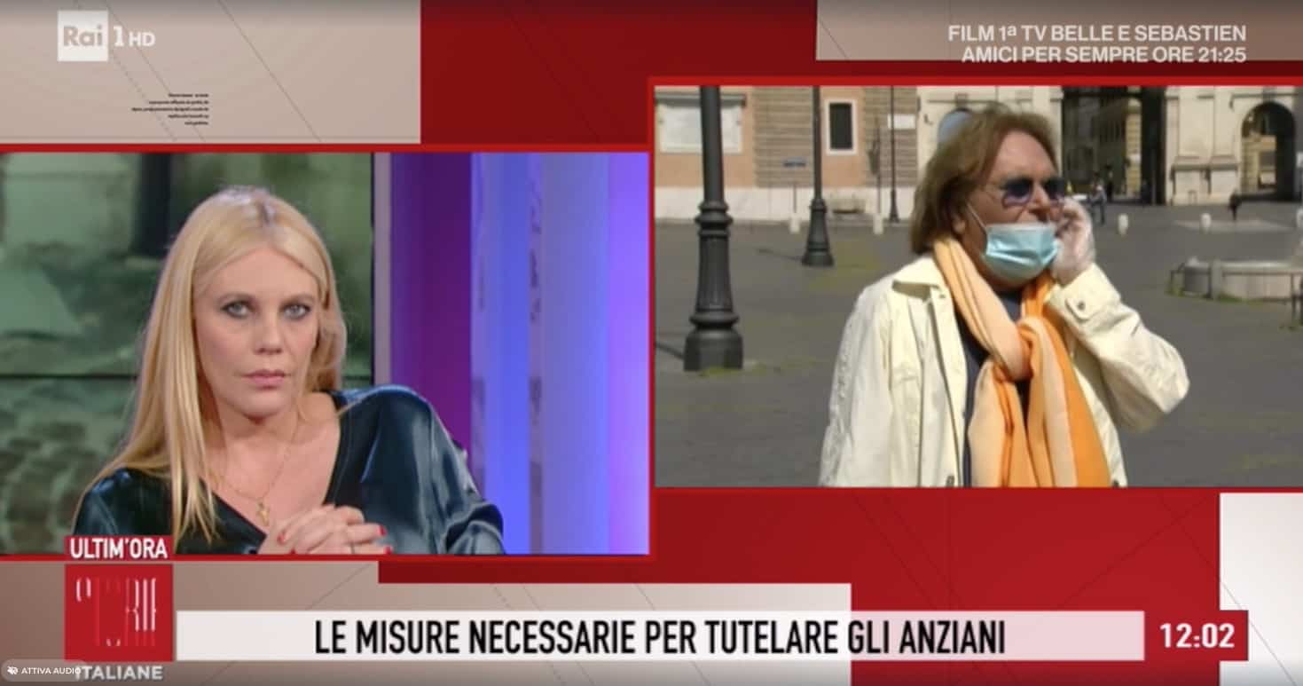 """Leopoldo Mastelloni a Storie Italiane: """"Quello che possono dare gli anziani non si può cancellare"""""""
