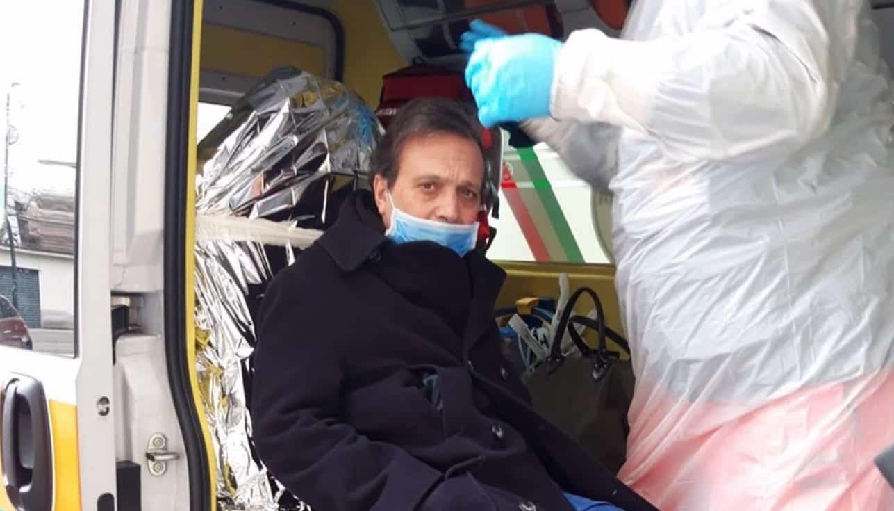Piero Chiambretti mostra il giorno del ricovero e il dolore per la grave perdita (Foto)