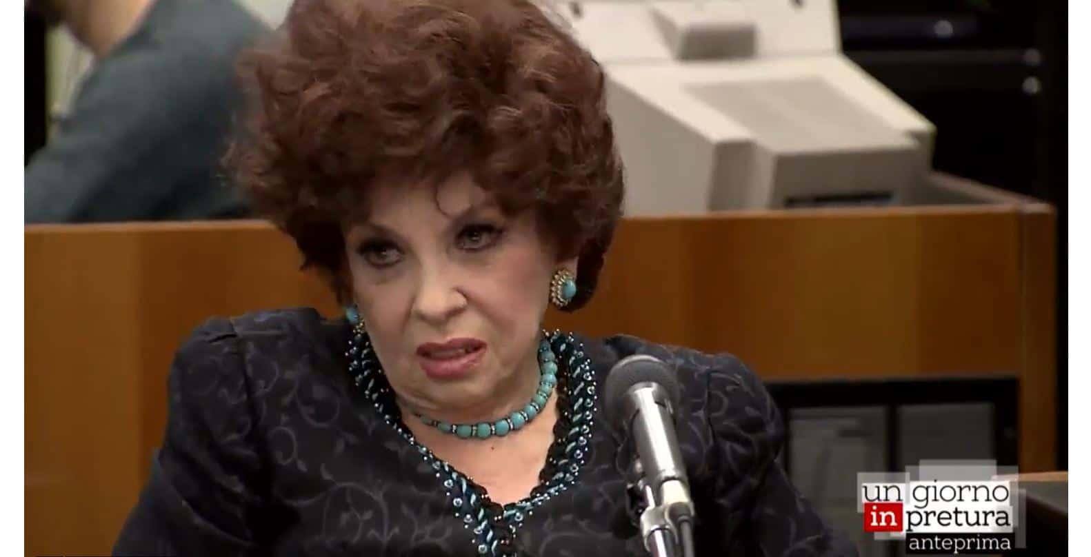 Un giorno in pretura riparte da Gina Lollobrigida: stasera su Rai 3 la vicenda giudiziaria