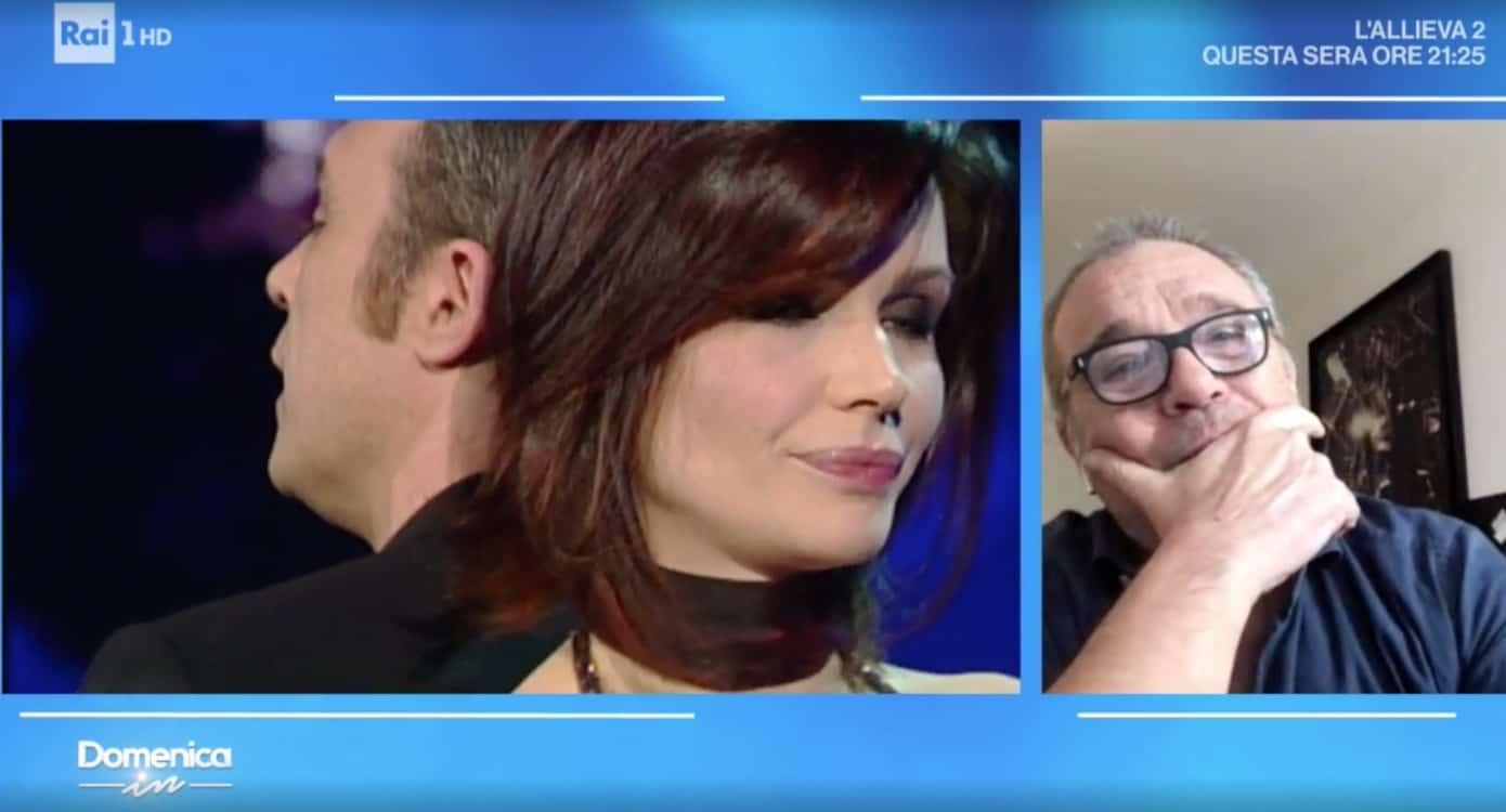 Claudio Amendola a Domenica In l'amore per Francesca Neri dopo tanti anni e in quarantena (Foto)