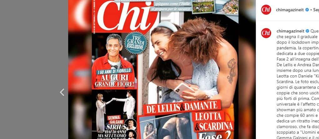 Giulia de Lellis e Andrea Damante lontani in fase 2: da Chi le foto prima della separazione