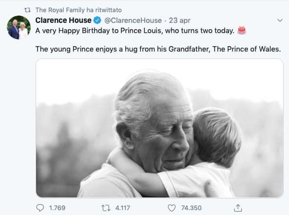 I gelidi auguri ad Archie dalla famiglia reale, nessuna nuova foto inviata da Harry e Meghan