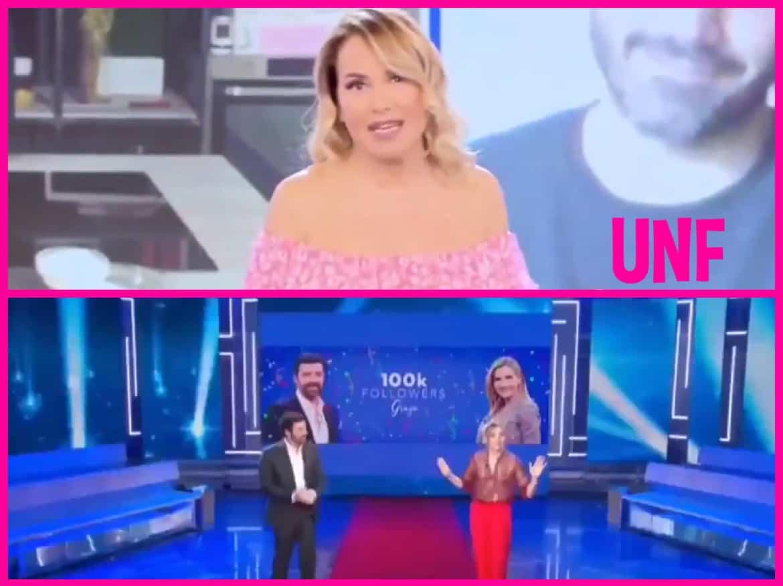 Lorella Cuccarini e Alberto Matano fanno gli auguri in diretta a Barbara d'Urso: lei ringrazia da Pomeriggio 5