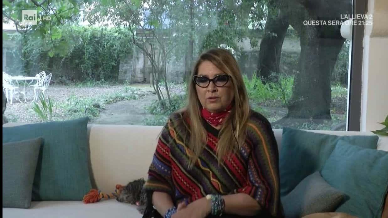 Romina Power da Cellino per Domenica In racconta la sua quarantena a casa del figlio (Foto)