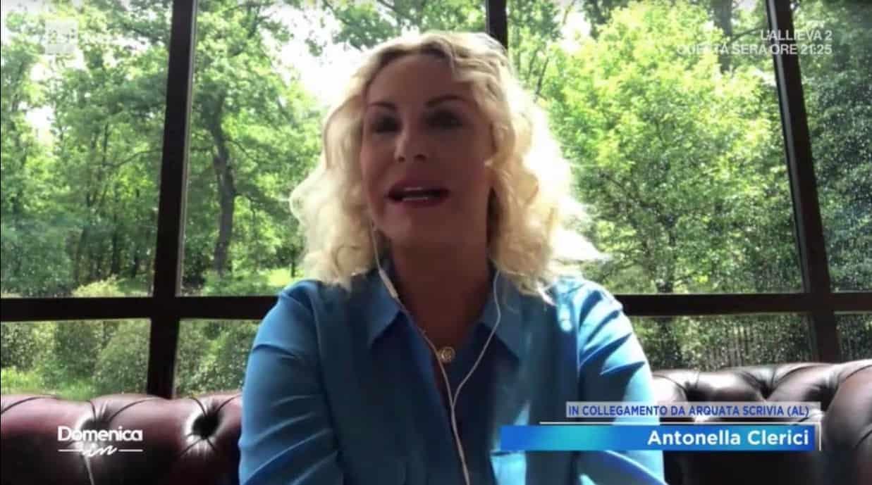 A Domenica Antonella Clerici parla de La prova del cuoco e conferma il ritorno in tv