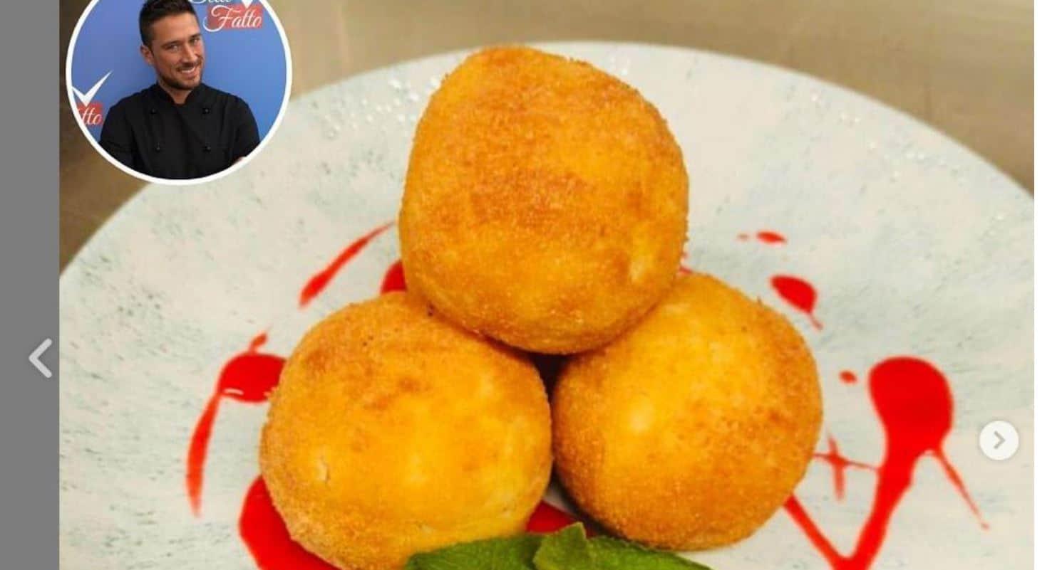 Mattia Poggi prepara polpette di riso dolci e salate da Detto Fatto