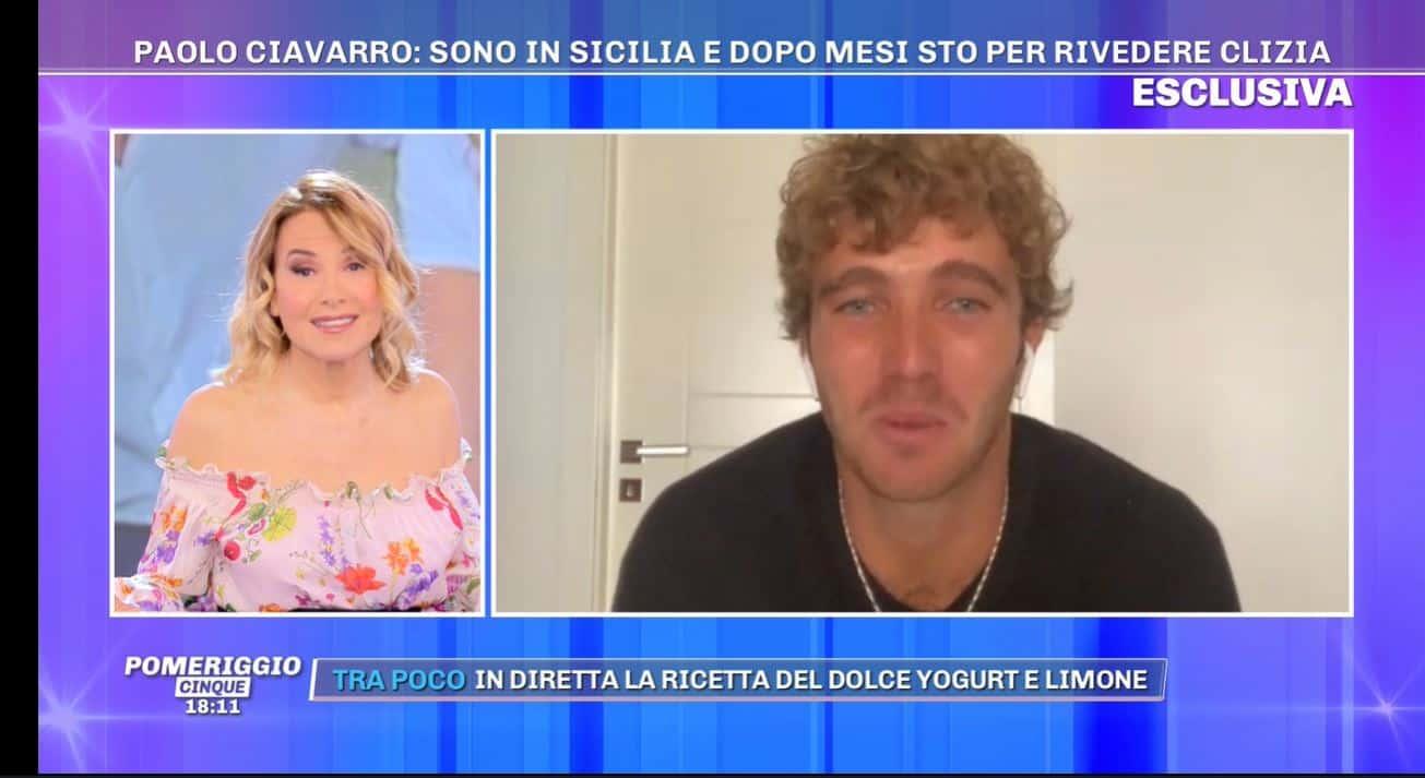 Paolo Ciavarro in Sicilia: tra dieci giorni potrà incontrare Clizia Incorvaia