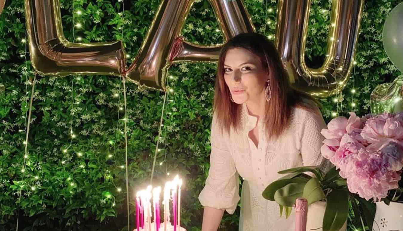 Per Laura Pausini una festa di compleanno in rosa con gli auguri più belli (Foto)