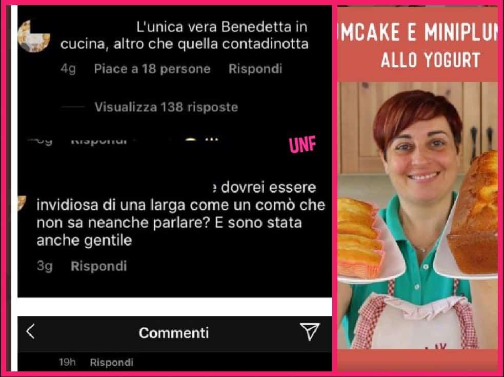 """Benedetta Rossi ancora offesa e insultata sui social: """"Larga come un comò, non sa parlare"""""""