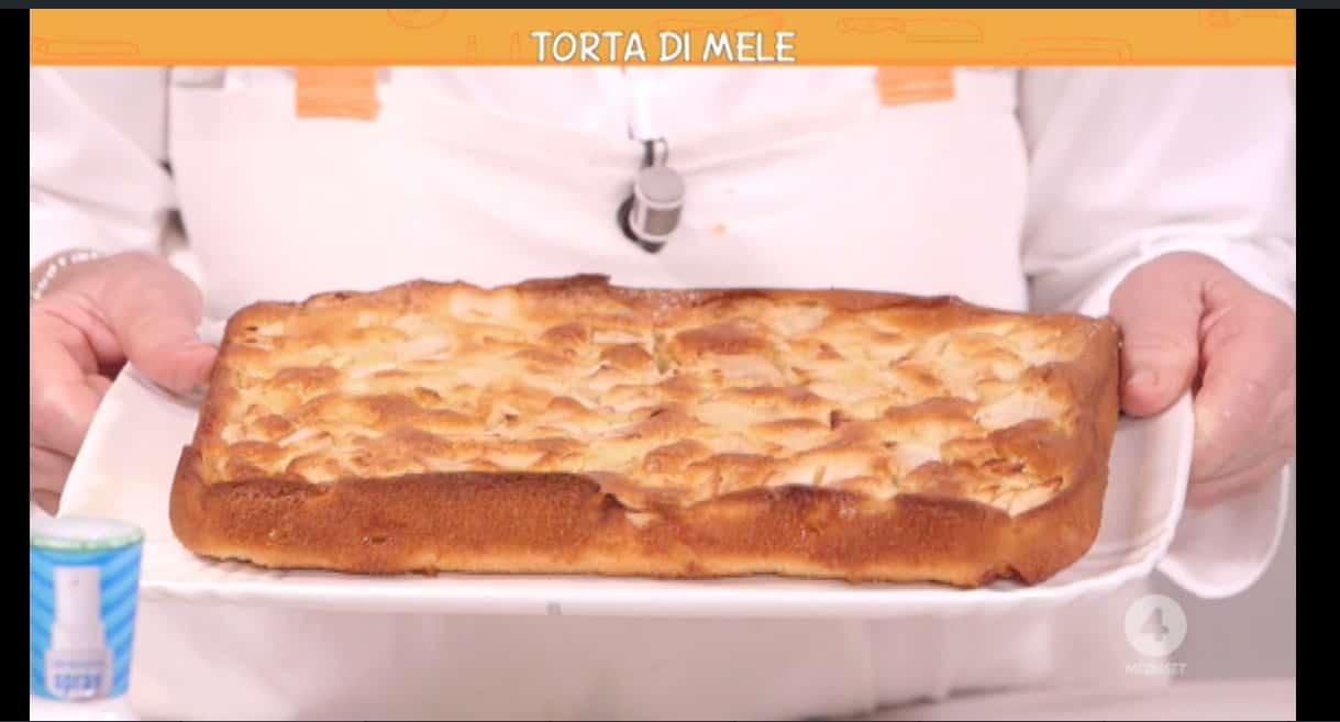 La ricetta della torta di mele di Anna Moroni da Ricette all'italiana