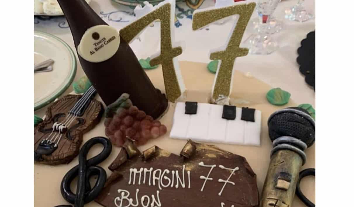 Romina Power mostra la torta di compleanno di Al Bano, gli auguri di Loredana Lecciso (Foto)