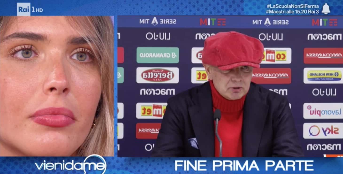 Viktorija Mihajlovic a Vieni da me: quando ha saputo della leucemia di Sinisa ha perso il controllo