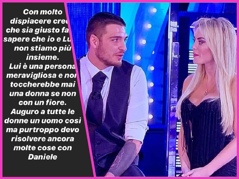 Elena Morali annuncia la fine della storia con Favoloso ma poi cancella tutto