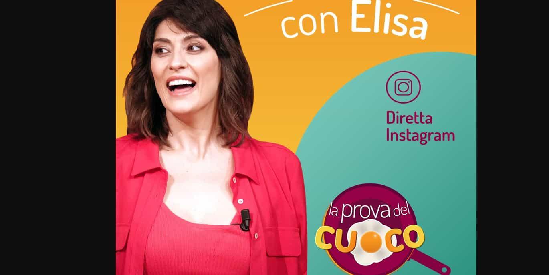 Elisa Isoardi da lunedì torna su Rai 1 con La prova del cuoco: il suo sarebbe un addio