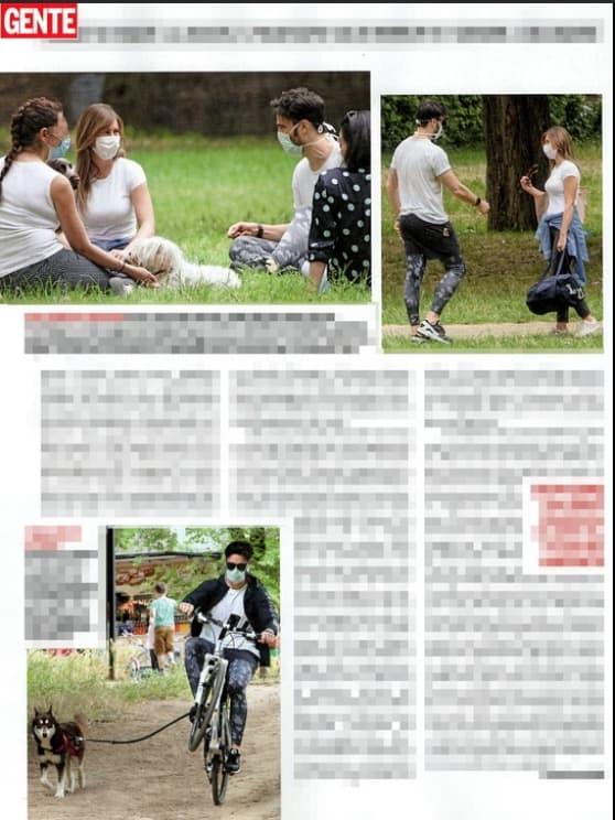 Giulio Berruti e Maria Elena Boschi con i genitori al parco ma non rivelano niente (Foto)
