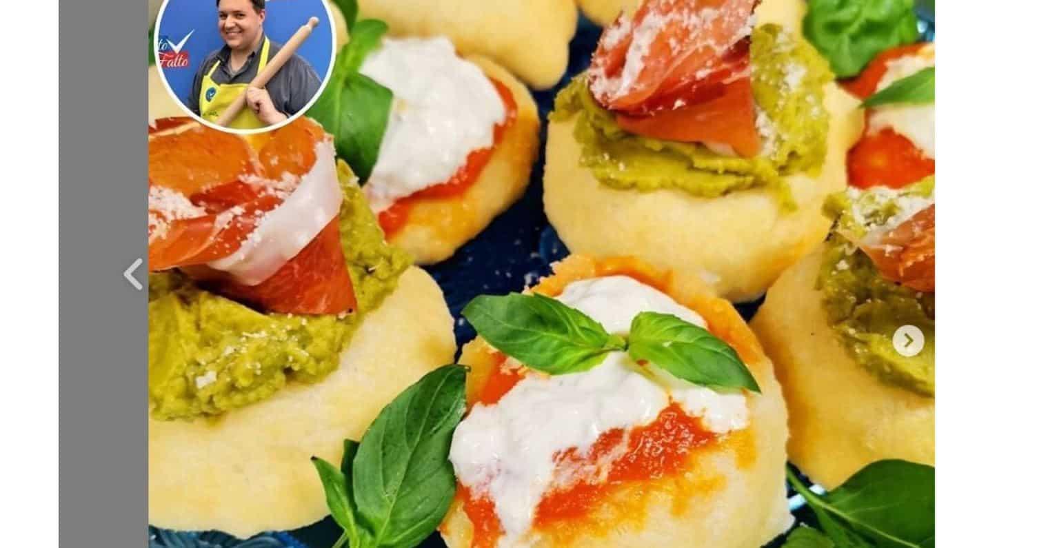 Da Detto Fatto nuvolette di pizza di Beniamino Baleotti